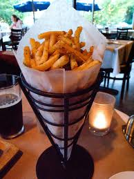 French Frie son metal cone Tip Top restaurant White Rover Junction in the Upper Valley