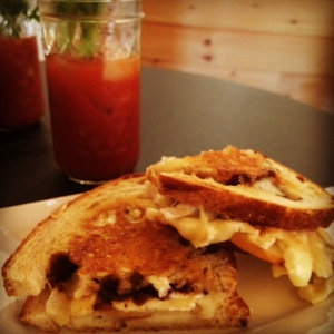 Bloody Mary Silo Distillery Warm Grilled Cheese